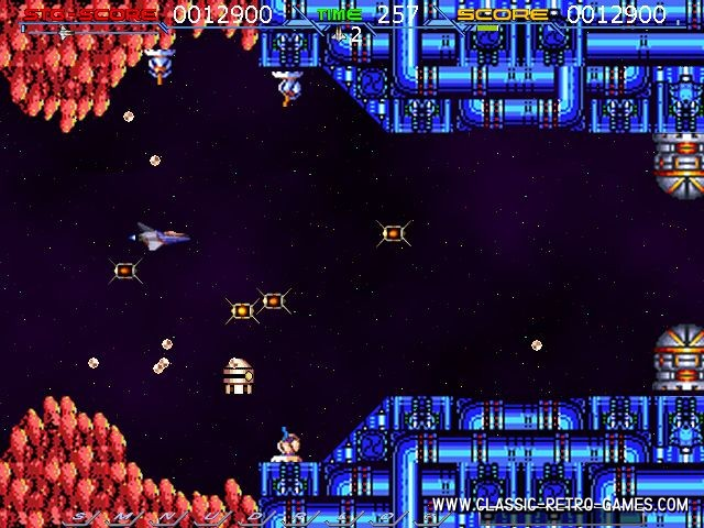 Nemesis online (Gradius) remake screenshot