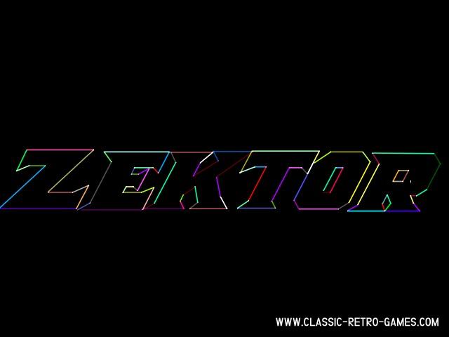 Zektor original screenshot