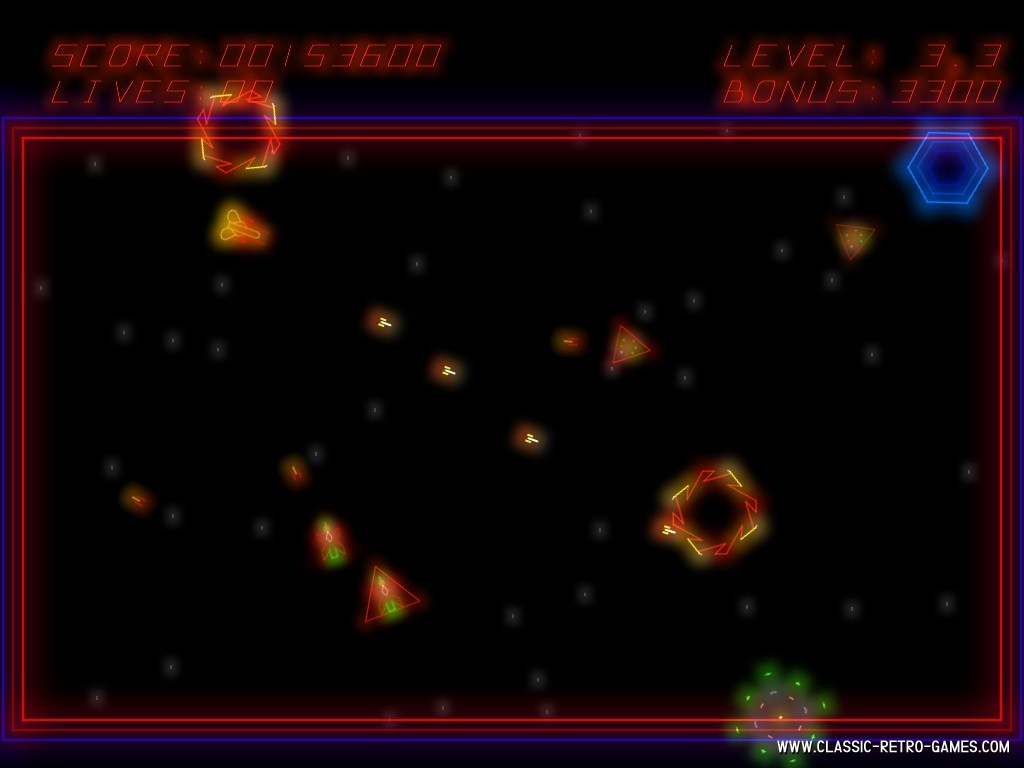 Zektor remake screenshot
