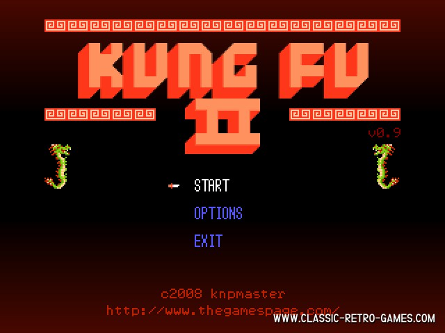 Kung Fu Master 2 remake screenshot