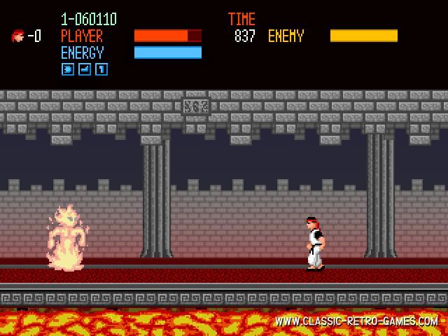 Kung Fu Master 2 remake screenshot