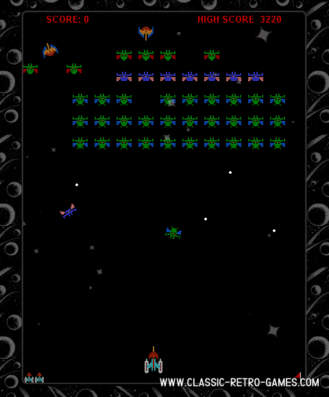 Galaxian (2) remake screenshot