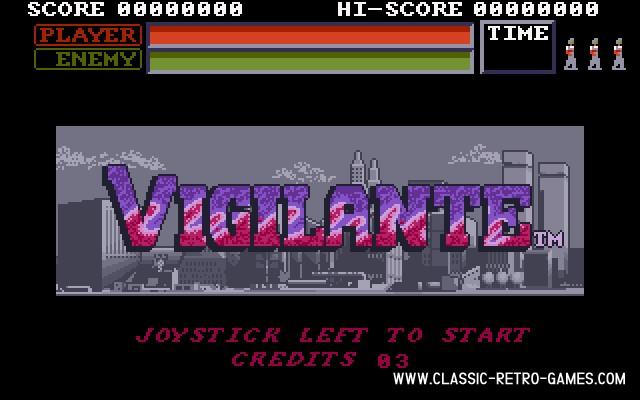 Vigilante original screenshot