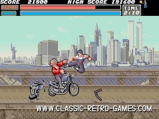 Vigilante remake screenshot