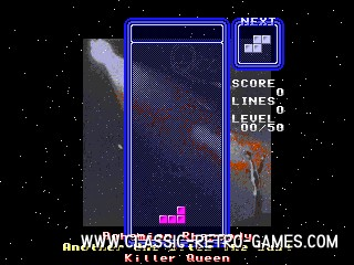Tetris Queen remake screenshot