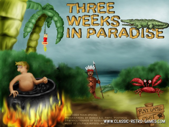 Three weeks in paradise remake screenshot