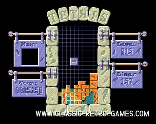 Tetris Pro original screenshot