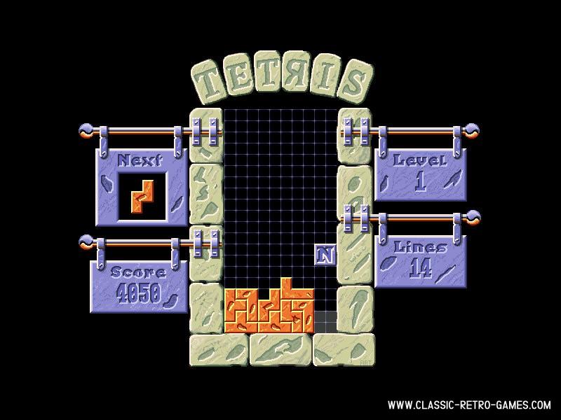 Tetris Pro remake screenshot