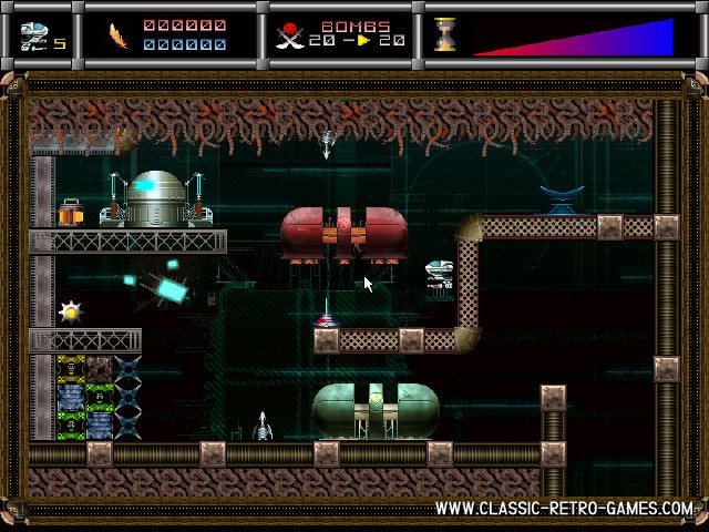 Cybernoid 3 remake screenshot