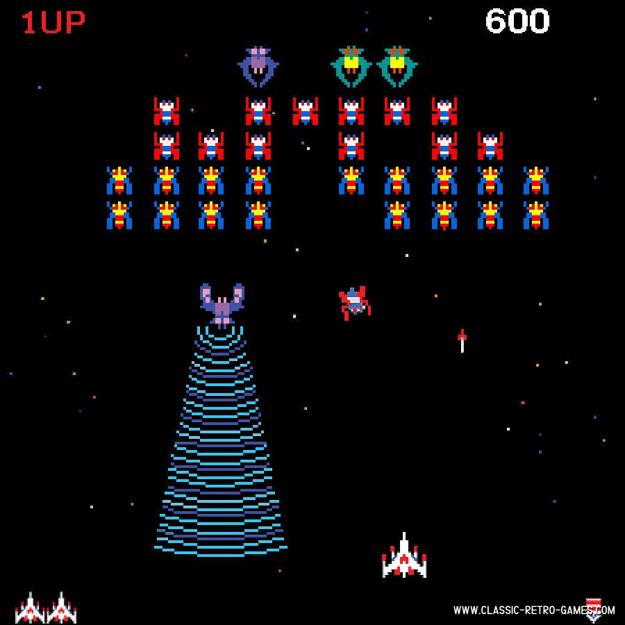 Galaxian original screenshot