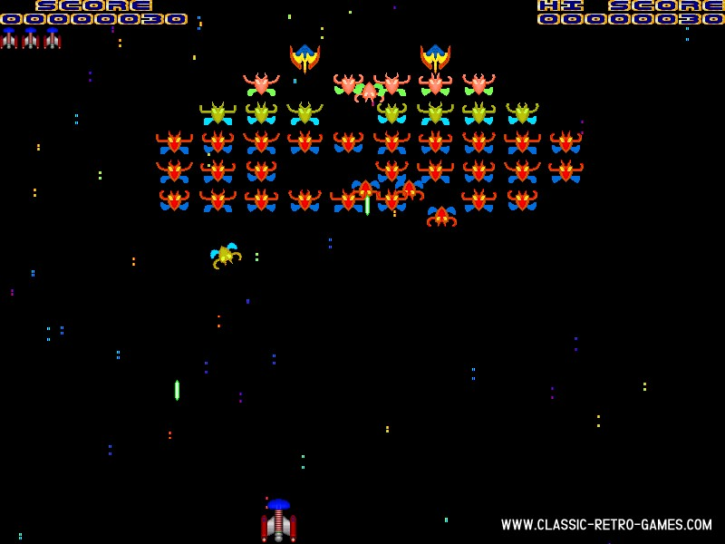 Galaxian remake