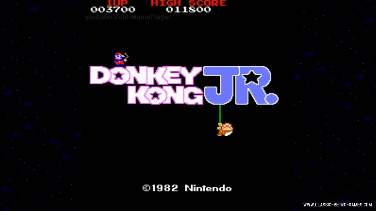 Donkey Kong Jr. original screenshot