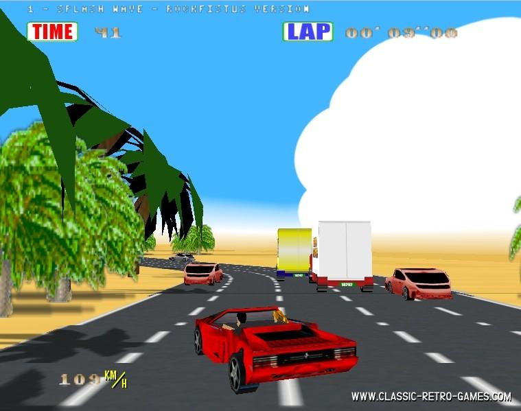 Out Run remake screenshot