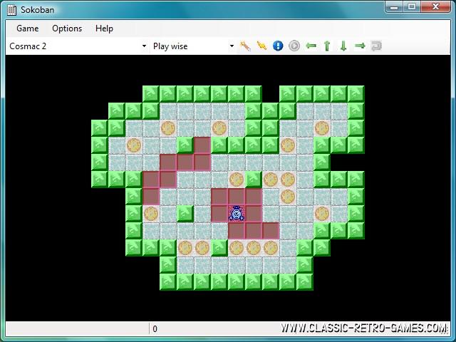 Sokoban (3) remake screenshot