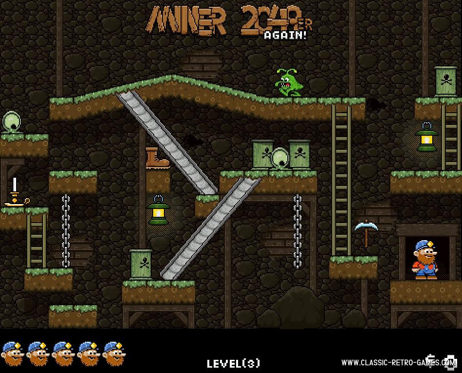 Miner 2049er remake screenshot