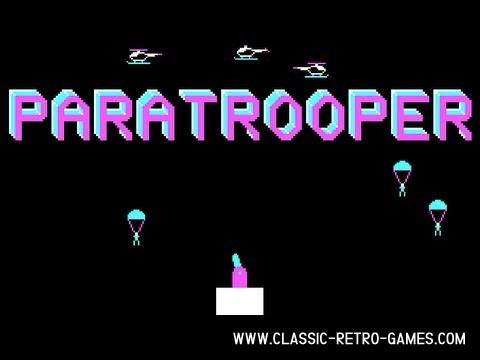 Paratrooper original screenshot