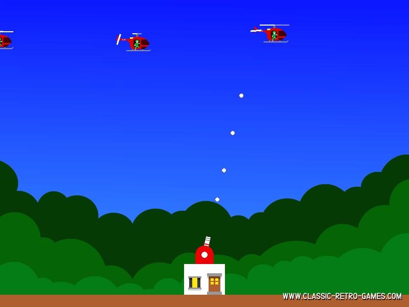 Paratrooper remake screenshot