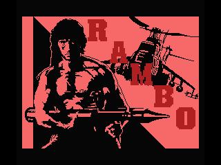 Rambo original screenshot