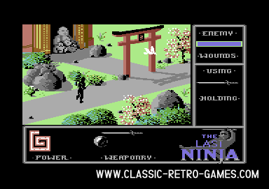 The Last Ninja original screenshot