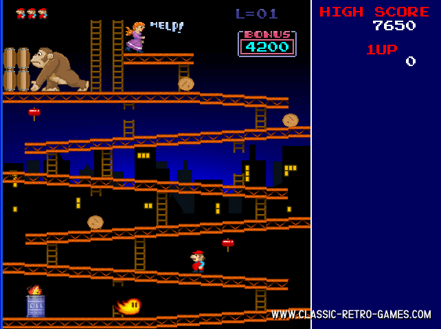 Download Donkey Kong Craze  Play Free  Classic Retro Games