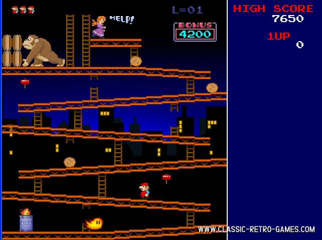 Donkey Kong Craze remake