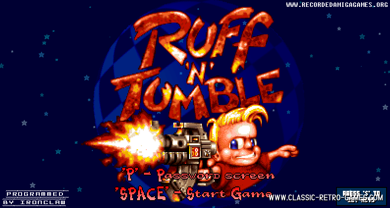 Ruff 'n' Tumble remake screenshot