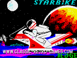 Starbike original screenshot