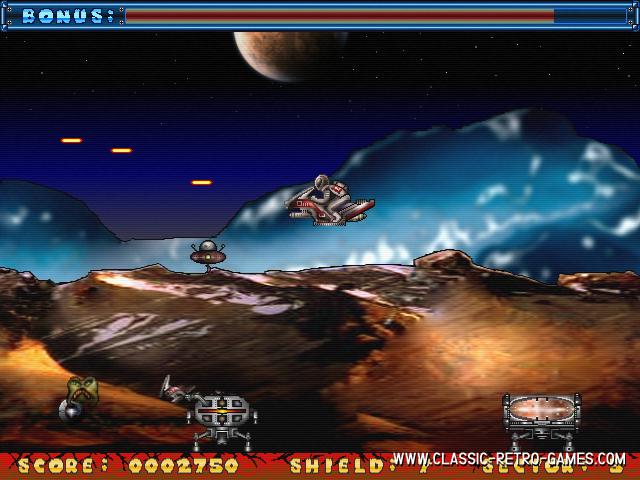 Starbike remake screenshot