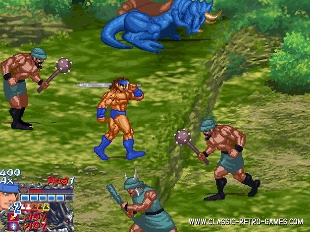 Golden Axe remake