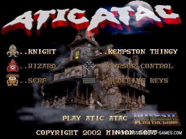 Atic atac remake