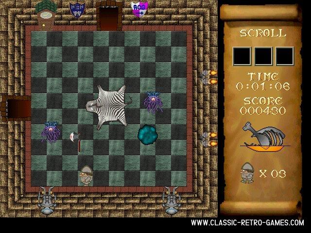 Atic atac remake screenshot