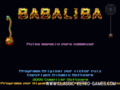 Babaliba remake screenshot