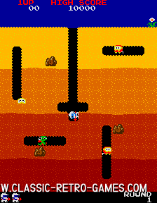 Dig Dug original screenshot