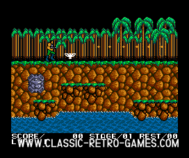 Contra original screenshot