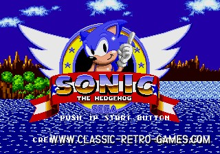 Sonic original screenshot