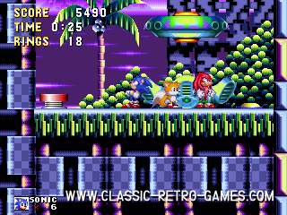 Sonic remake screenshot