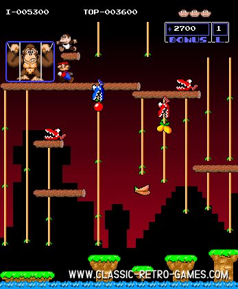 Donkey Kong Jr. remake screenshot