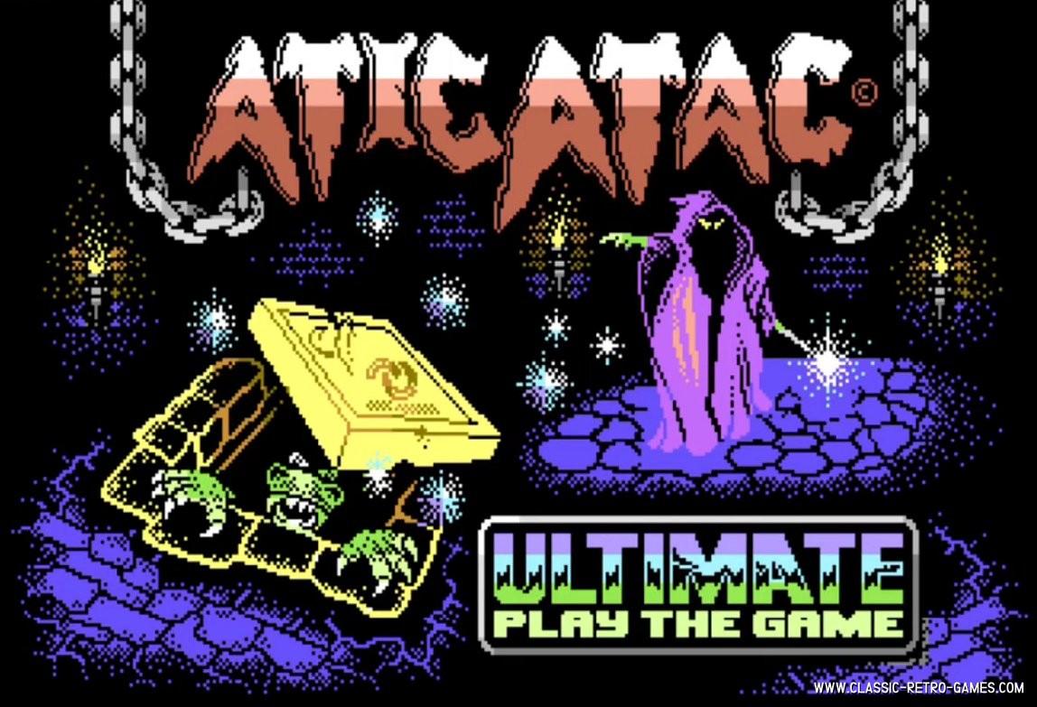 Atic Atac original screenshot
