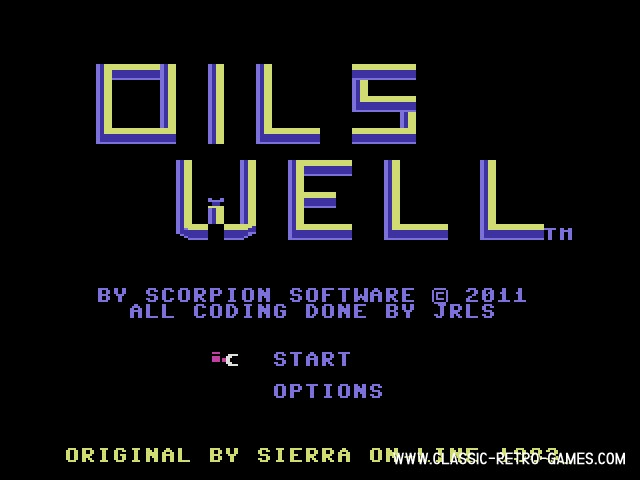 Oil's Well original screenshot