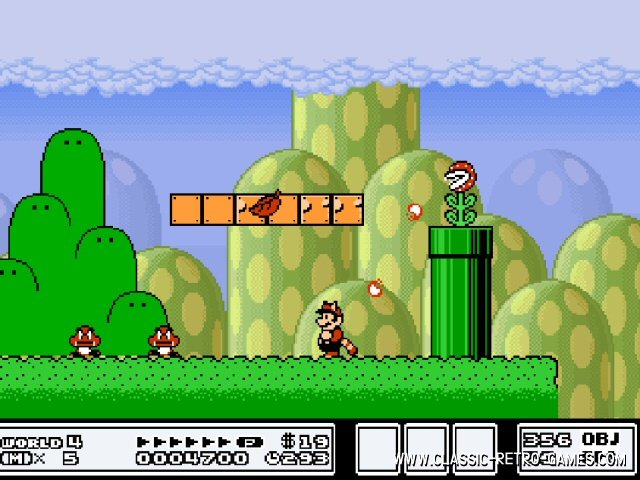 Super Mario Bros. 3 remake screenshot