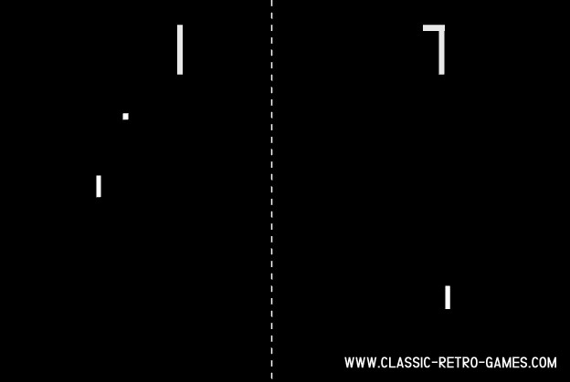 Pong original screenshot
