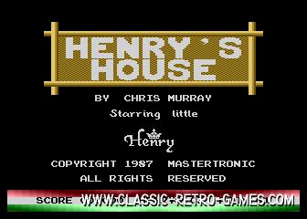 Henry's house original screenshot
