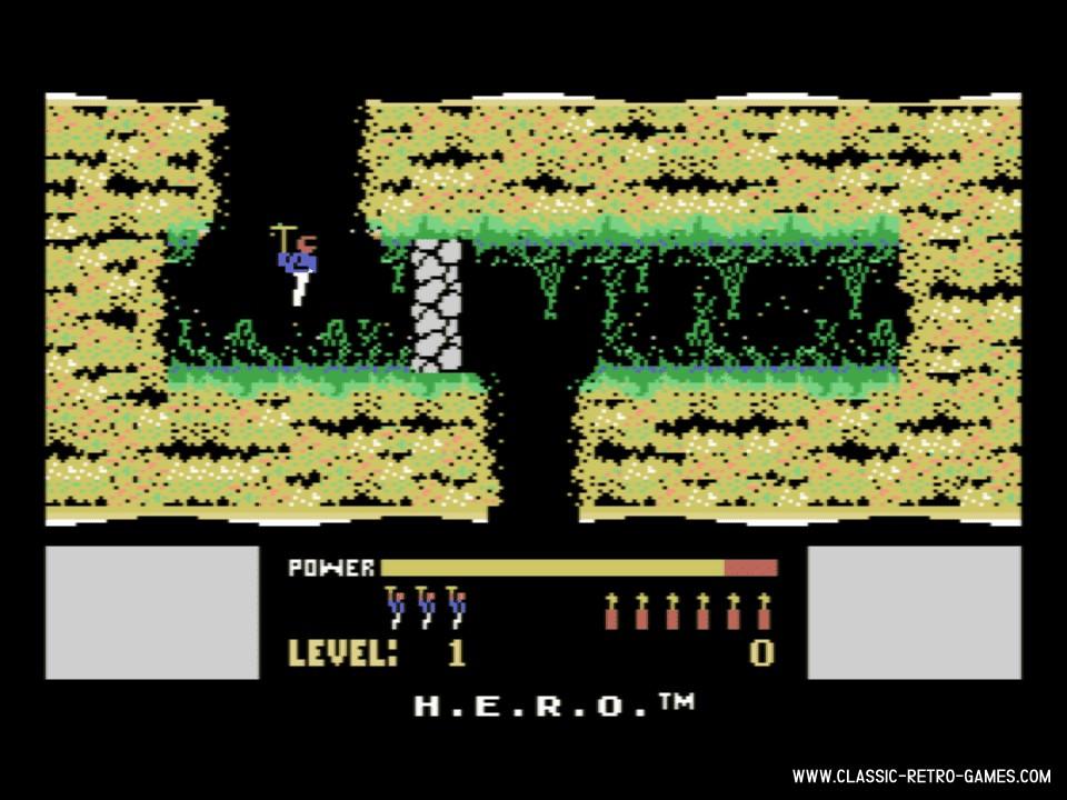 H.E.R.O. original screenshot