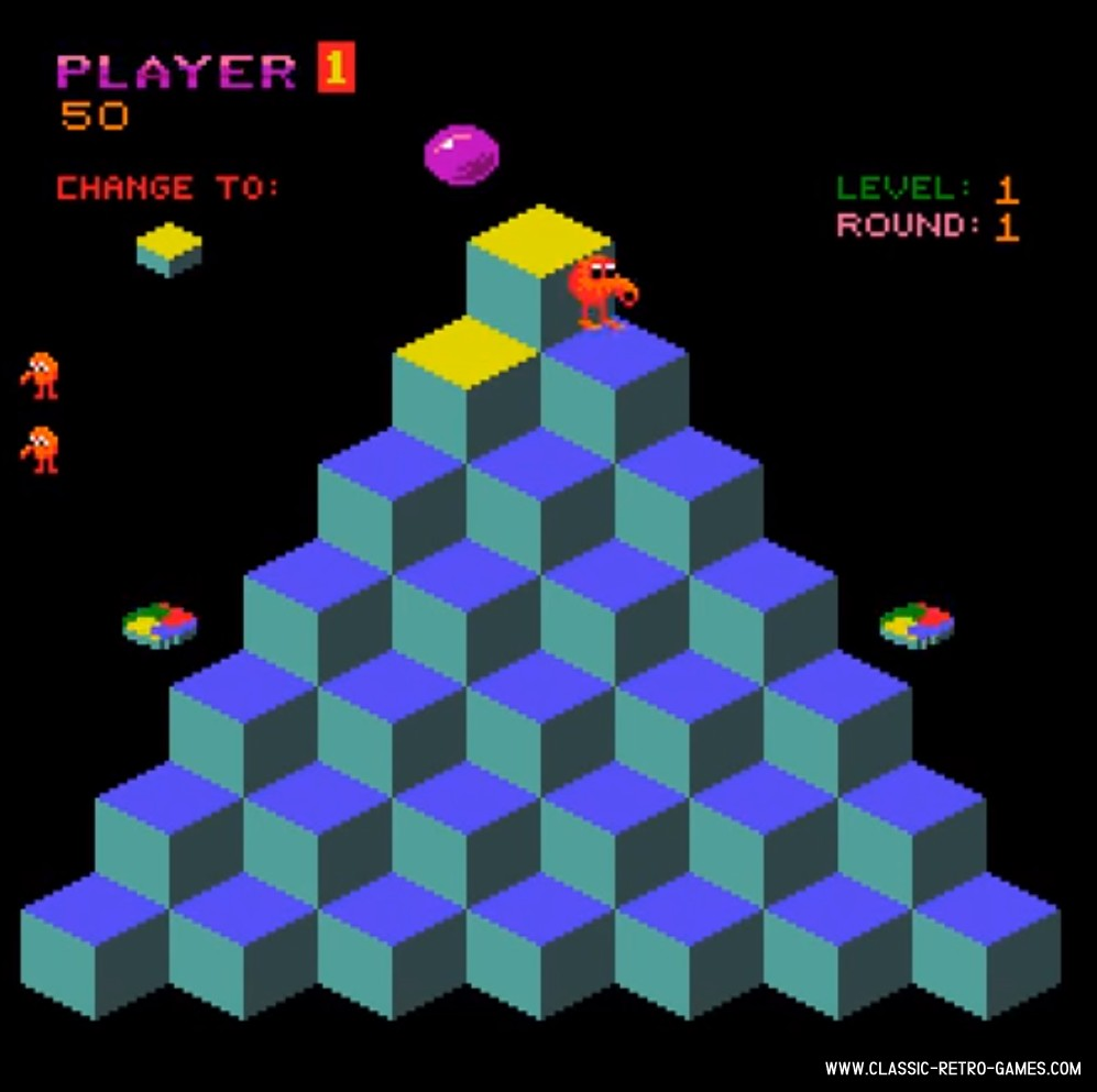 Q-Bert original screenshot