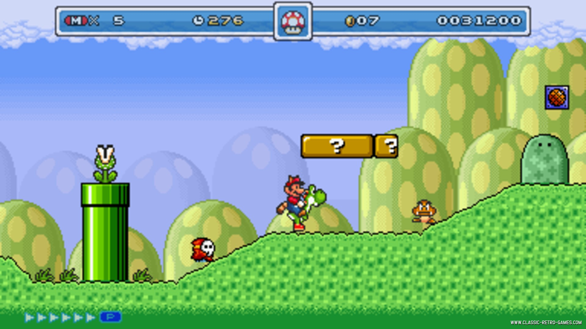 Super Mario World remake screenshot