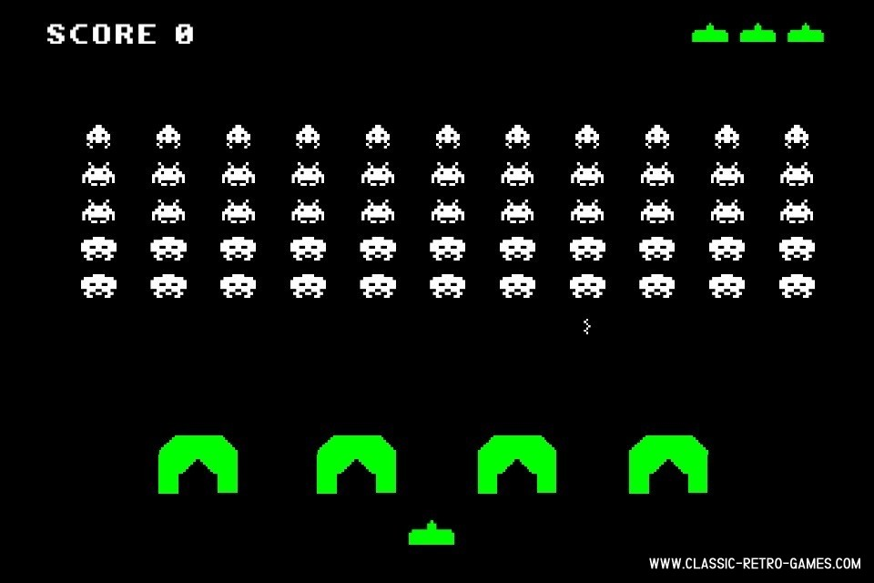 Space Invaders  original screenshot
