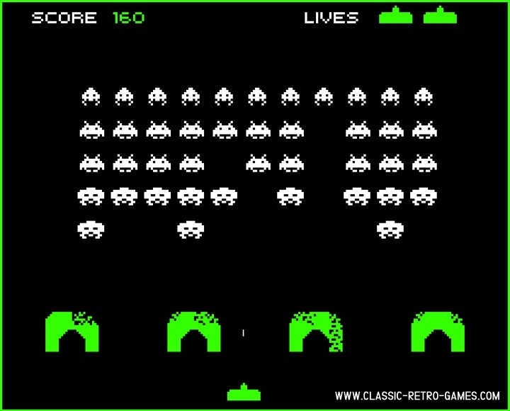 Space Invaders  remake screenshot