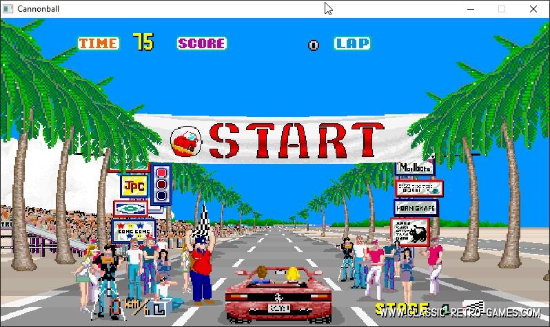 Outrun remake screenshot