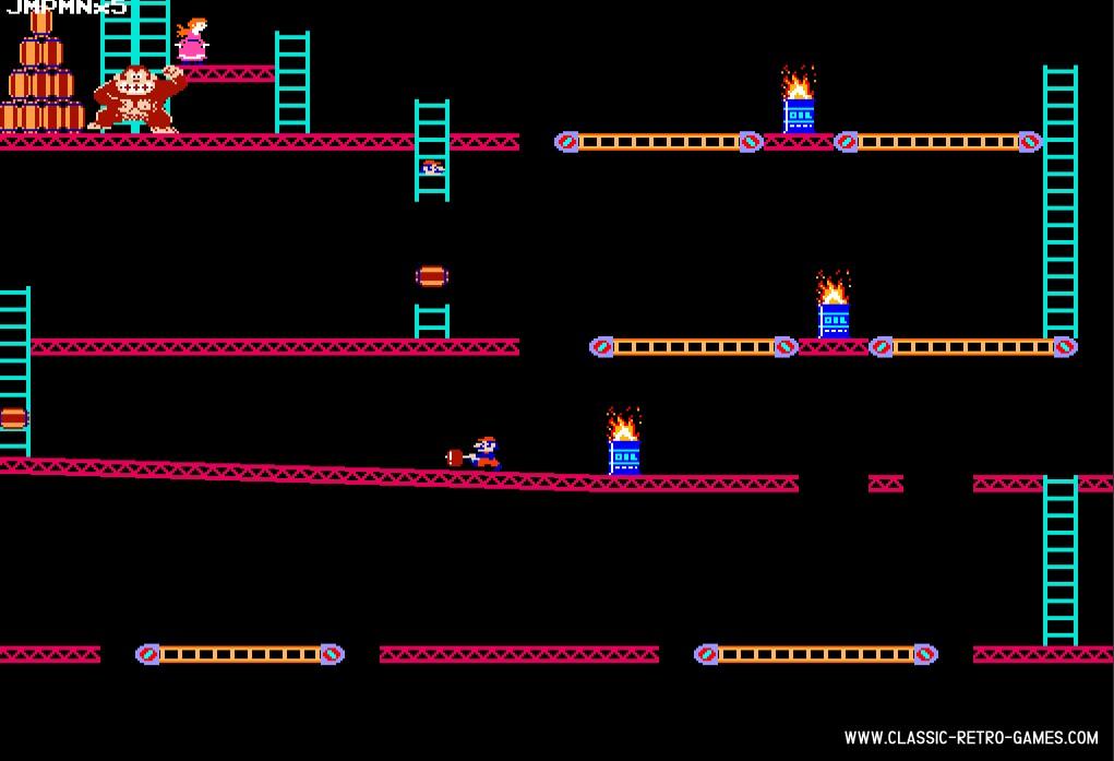 Donkey Kong remake screenshot