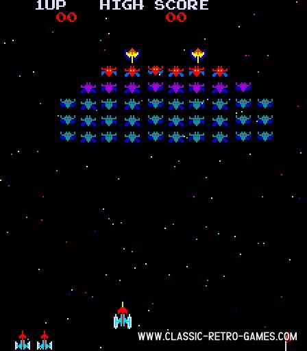 Galaxian original screenshot
